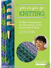 NEW! Join As You Go Knitting by Lily Chin [DVD]