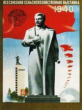 L'agricoltura dell' Unione Sovietica Stalin RED FLAG STATUA ZIO JOE Russia POSTER 1650pylv