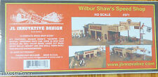JL Innovative Design HO #371 Wilbur Shaw's Speed Shop (1:87 Scale) Kit