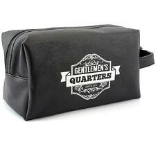 Gentleman's Toilet Bag / Wash Bag Gift For Him Vintage Style With Quote LP28686