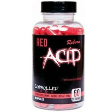 Controlled Labs RED ACID REBORN Weight Loss Fat Burner - 60 capsules