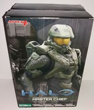 KOTOBUKIYA HALO MASTER CHIEF STATUE 1/10SCALE ARTFX+ BOXED FIGURE 2015 MINT