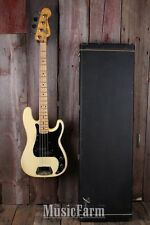 Fender® Vintage 1978 4 String Precision Bass Electric Guitar P Bass with Case
