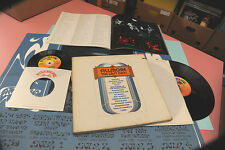 "GRATEFUL DEAD SANTANA...2LP + 7"" + POSTER NM ! FILLMORE LAST DAYS ORIG USA 1972"