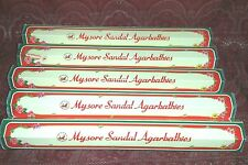 LOT x12 Mysore Sandal Premium SANDALWOOD Incense 20 Sticks USA SELLER Free Ship