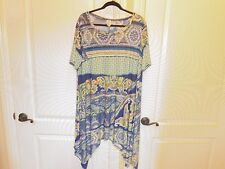 NEW WOMEN'S PLUS SIZE EXTRA LONG TOP  SIZE 3X