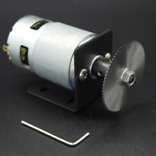 24V DC Motor With 60mm Saw Blade DIY Accessories For Mini Lathe Table Saw