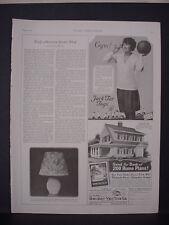 1925 Girl Basketball Player Jack Tar Togs Kids Clothing Vintage Print Ad 11798