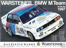 BMW E30 M3 DTM  Motorsport poster print # 5