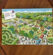 Where's Waldo Jigsaw Puzzle Safari Park 100pc Martin Handford #624 Game Toy NEW