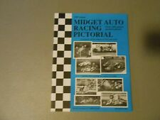1989 MIDGET AUTO RACING PICTORIAL,160 PICTURES,RESULTS, UMRA,BY CROCKY WRIGHT,