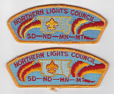 USA BOY SCOUTS OF AMERICA - NORTHERN LIGHTS SCOUT COUNCIL SHOULDER PATCH CSP