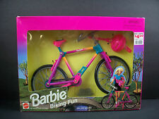 NIB BARBIE DOLL 1995 BIKING FUN   BIG BARBIE SALE L@@K!!