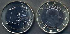MONACO 1 Euro 2014 Albert II FDC  (UNC)