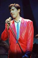 """12""""*8"""" colour concert photo of Bryan Ferry of Roxy Music at Manchester in 1979"""
