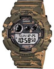 Casio G-Shock GD-120CM-5D Camouflage Series Green Army Resin Digital Men's Watch