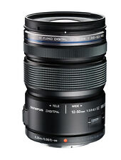 Olympus M.ZUIKO ED 12-50mm f/3.5-6.3 EZ  Lens -Black(White Box) + 52mm UV Filter