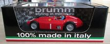 F1 1/43 FERRARI D50 FANGIO BRITISH GP 1956 WORLD CHAMPION BRUMM R076-CH