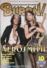 Burrn! Heavy Metal Magazine October 2011 Japan Aerosmith Dream Theater Saxon