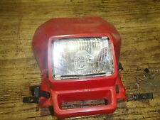 Yamaha TT 600 1984 headlight/shroud/guard I have more parts for this bike/others