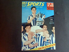 "WEST BROMWICH ALBION 1954 FA CUP FINAL SPORTS MAGAZINE COVER  6""x4""  REPRINT"