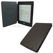 FUNDA DE CUERO AMAZON ORIGINAL PARA KINDLE PAPERWHITE LIBRO CON TAPA PIEL MARRON