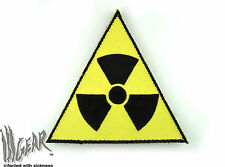 ill Gear Triangle Radioactive Velcro Patch Zobmie hunter Radiation bag pack