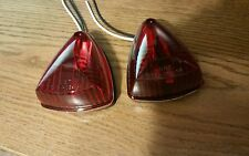 Qnty 2 - Red Tear Drop Clearance Marker Light,  RV Trailers, Motorhome, Camper