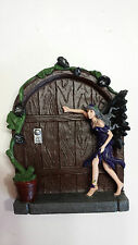 Dark Fairy door, mouse door, Gnome door, doorway to middle earth, Halloween