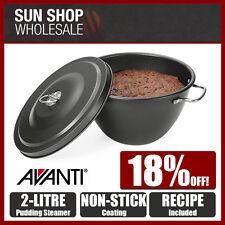 100% Genuine! AVANTI 2.0 Litre Non-stick Pudding Steamer! RRP $33.95!