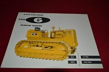 Allis Chalmers HD-6 Crawler Tractor Dealers Brochure YABE11 VER95