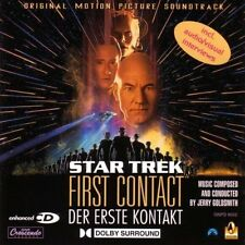 Jerry Goldsmith Star Trek - First Contact  OST / SOUNDTRACK ENHANCED  CD !