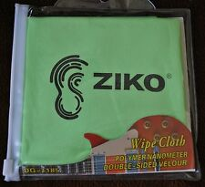 New Guitar Rag & Musical Instrument Wipe Cloth Green Ziko DG-1185 Clean Protect