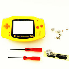 Pikachu Pokemon Housing Shell Case for Nintendo Game boy Advance GBA - Yellow