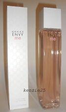 GUCCI ENVY ME WOMEN PERFUME'D BATH & SHOWER GEL BIG 6.8 OZ / 200 ML NIB