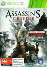 Assassin's Creed III 3 : Special Edition Microsoft Xbox 360 (2 disc edition)