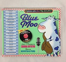 Blue Moo Hardback Book by Sandra Boynton with CD Home School