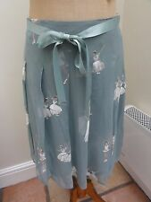 "Alannah Hill ""Be My Ballerina"" Skirt - Teal - Size 8 - New With Tags RARE"