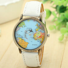 RELOJ Denim jeans MAPA MUNDO Mini World watch 7 colores