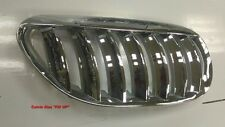 CHROMED FRONT & SILVER REAR FRONT KIDNEY GRILLE BMW E63 E64 6 SERIES 2004-2010