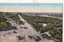 B81927 vista general de la plaza tramway buenos aires argentina front/back image