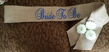 Wedding Bride To Be Sash