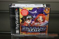Thousand Arms (PlayStation 1, PS1 1999) FACTORY SEALED! - ULTRA RARE!