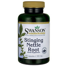 Stinging Nettle Root 500 mg 100 Caps (Urtica dioica) by Swanson Premium