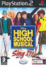 High School Musical Sing It! PS2 Playstation 2 IT IMPORT DISNEY INTERACTIVE