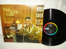Nat King Cole Tell Me All About Yourself - LP Record Album