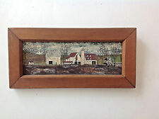 Dolores Hackenberger original oil painting signed of PA Dutch Amish Life