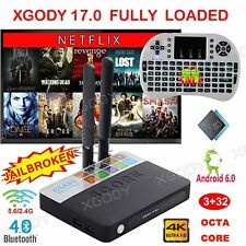 XGODY 3+32G S912 TV BOX Android 6.0 Add-ons 17.0 Fully Loaded Octa Core+Keyboard