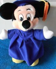 "DISNEYLAND MICKEY MOUSE GRADUATES 11"" TALL  VGC CUTE"