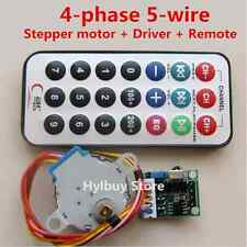 4-phase 5-wire Stepper Motor+Driver Board+Remote Control RC adjustable Speed